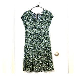 Flower print spring time dress